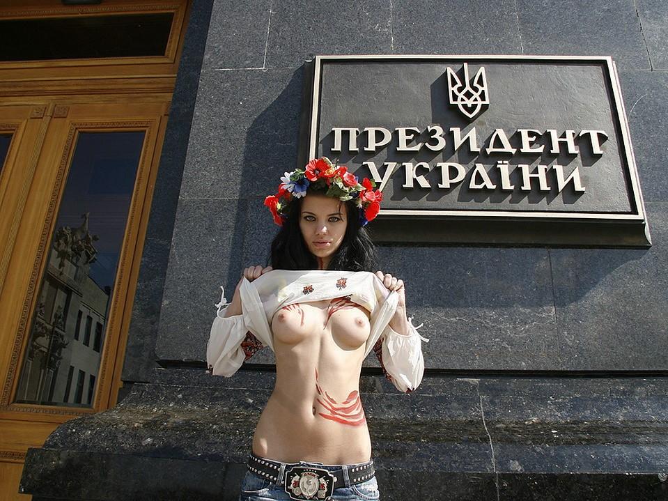 топлесс украиночки