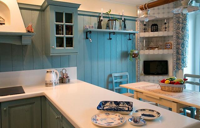 Дизайн кухни в голландском стиле