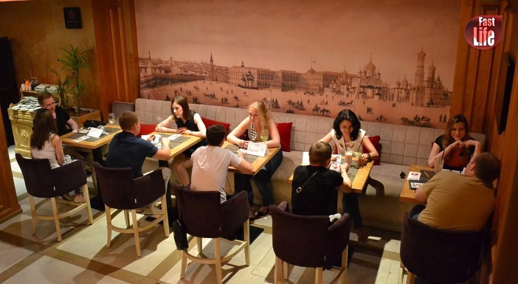 Быстрые знакомства в москве ресторане