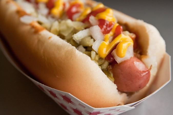 the all american hotdog how can