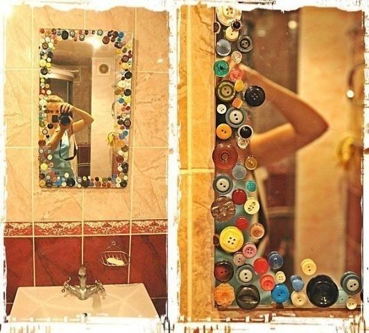 Декорирование зеркало своими руками