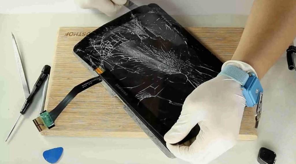 Что делать если разбился сенсор планшета