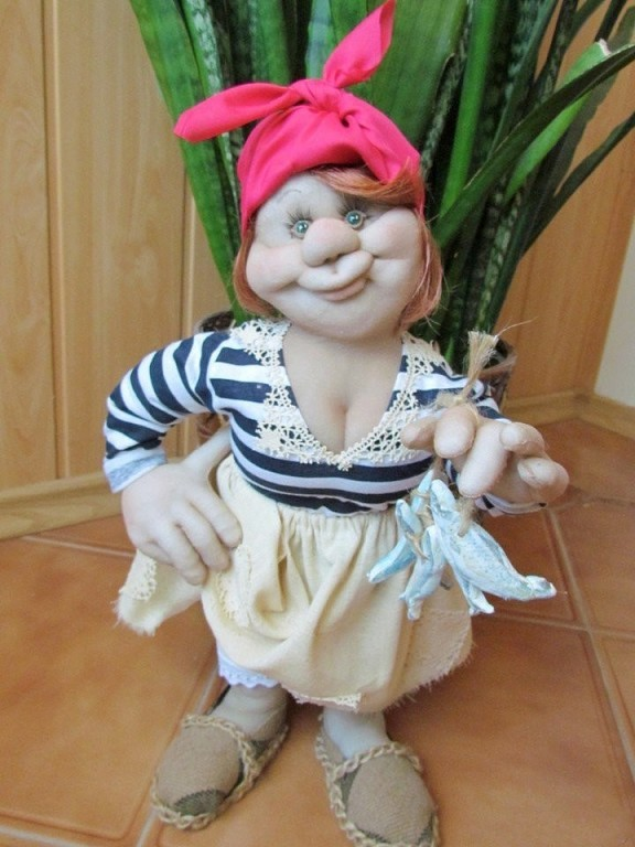 Дачные куклы сделанные из капрона