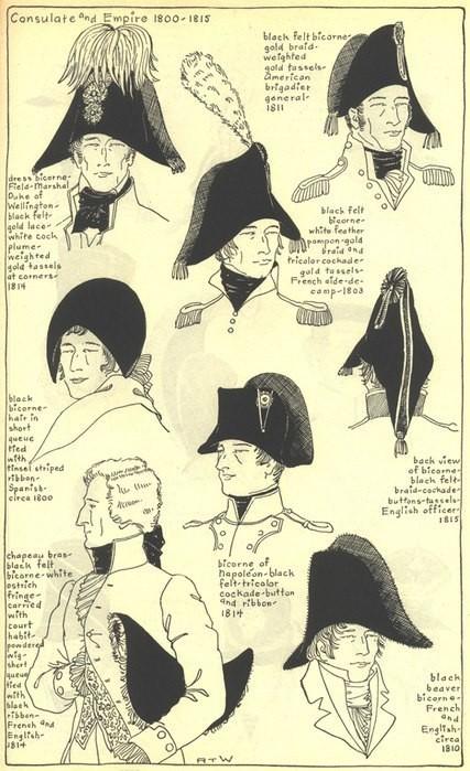 Как сделать шляпу наполеона