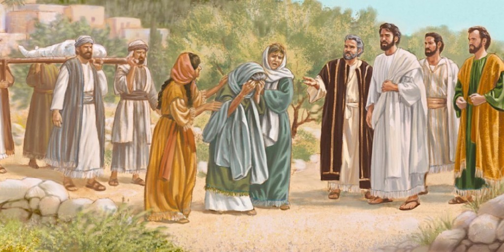 aeneas and jesus 32 as peter traveled about the country, he went to visit the saints in lydda 33 there he found a man named aeneas, a paralytic who had been bedridden for eight years 34 aeneas, peter said to him, jesus christ heals you.
