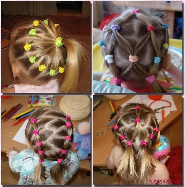 причёски для самых маленьких с фото