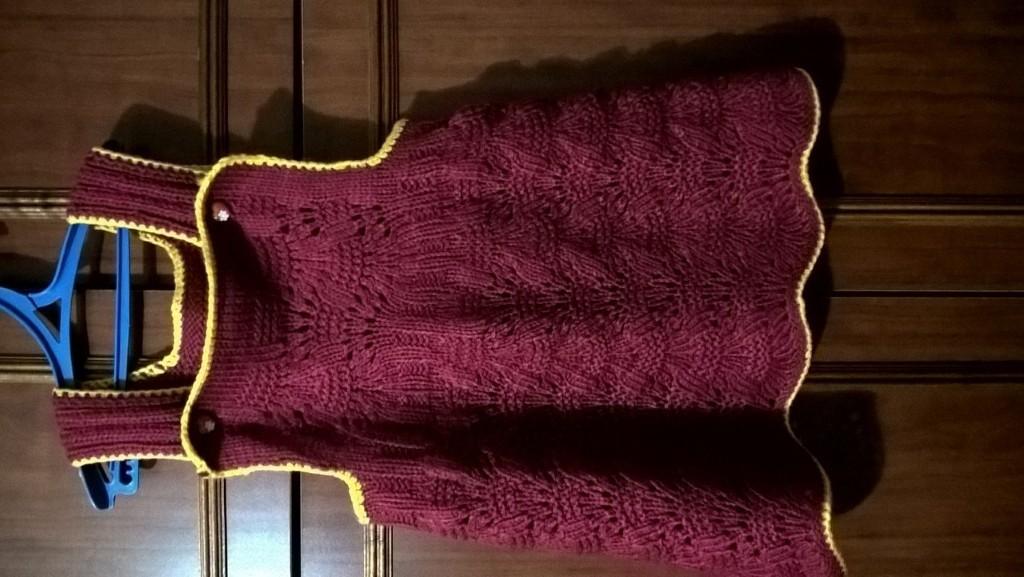 Видеоурок по вязанию берсановой