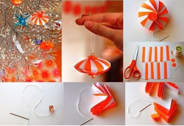 Как сделать своими руками новогоднею игрушку поэтапно