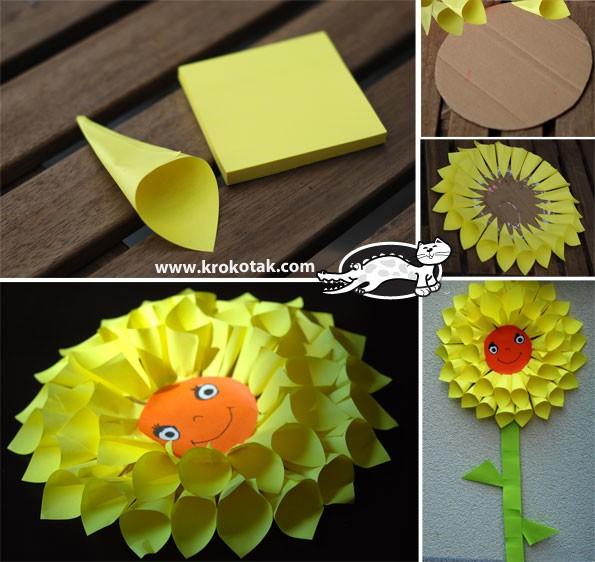 Поделки как сделать из цветной бумаги