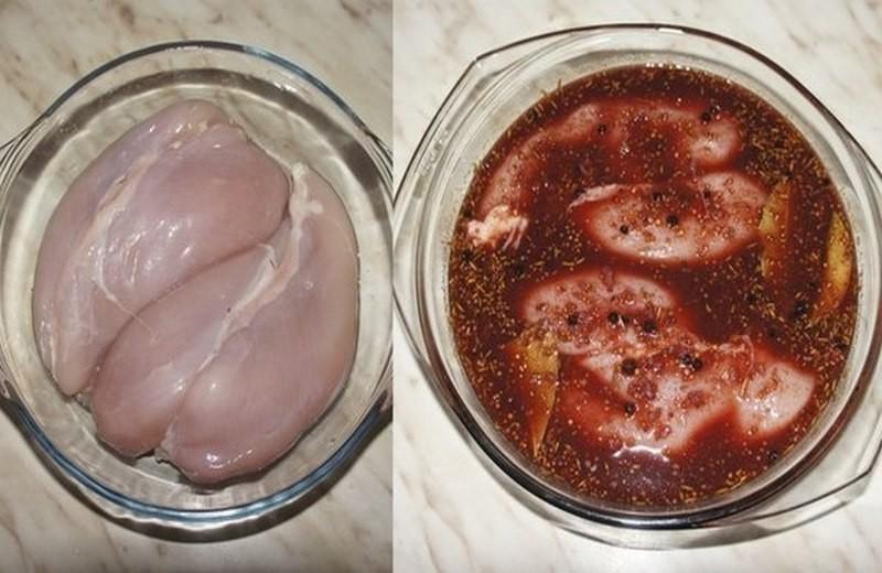 Вы быстро размораживаете филе и приступаете к приготовлению пастормы из курицы.
