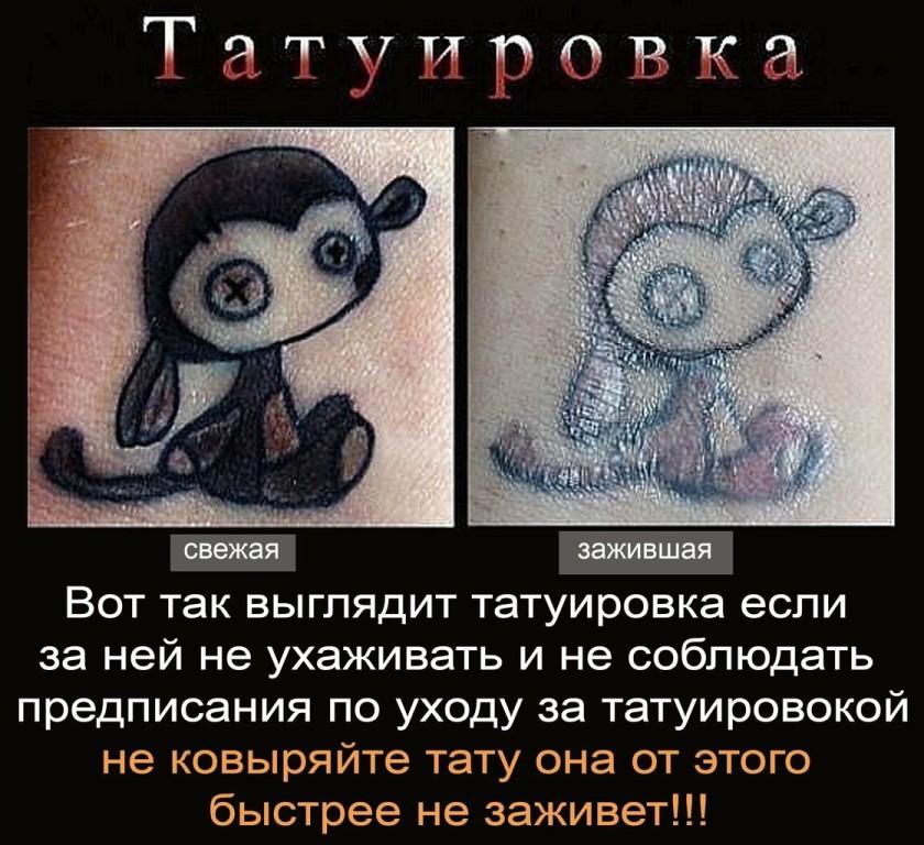 Какие противопоказания при нанесении тату  Tattoo