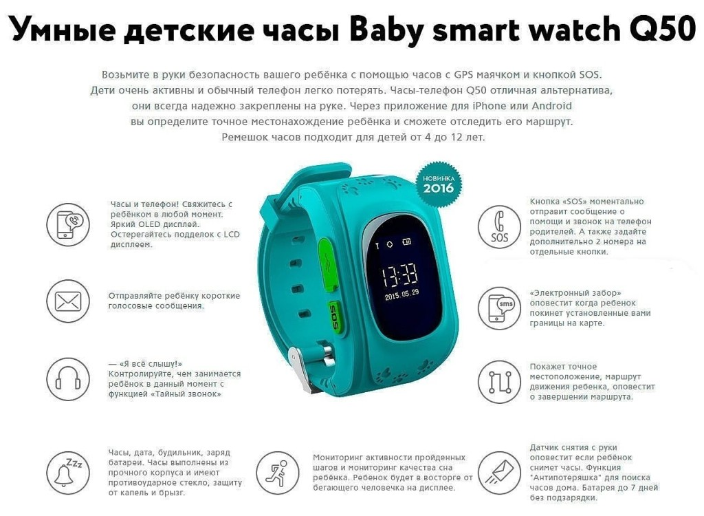 Инструкция к детским часам smart baby watch
