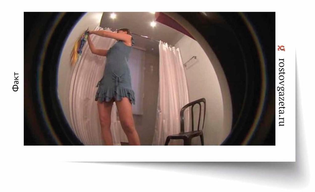 скрытая камера в магазине одежд примиряет одежды проститутки москвы
