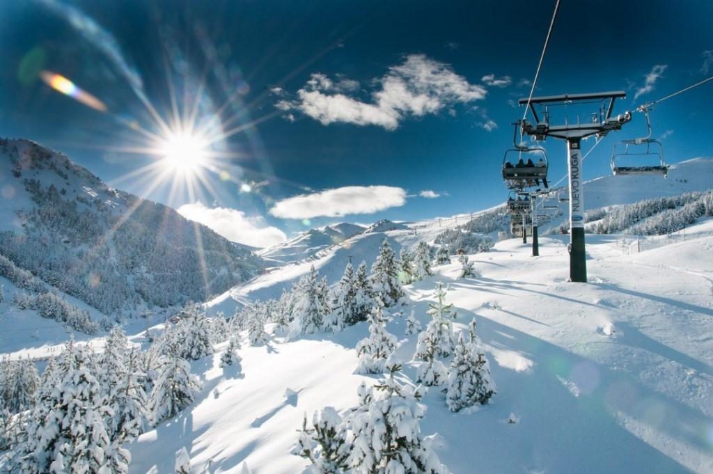 Горнолыжная Андорра – самый солнечный горнолыжный курорт Европы !