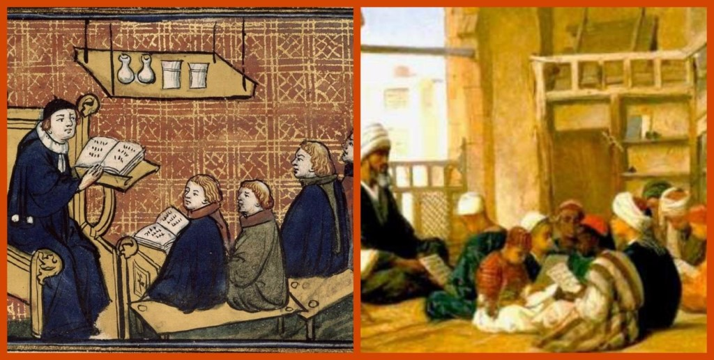 education of the middle ages In the history of europe, the middle ages (or medieval period) lasted from the 5th to the 15th century it began with the fall of the western roman empire and merged into the renaissance and the age of.