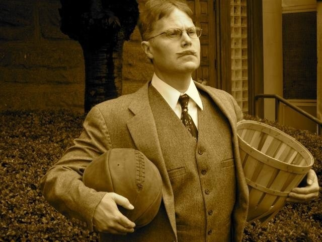 a biography of dr james naismith the inventor of basketball How much money did dr james naismith make the year he invented basketball 1891  in 1891 while at a physical fitness training course at the new ymca in springfield, massachusetts dr james naismith tacked up a peach basket 10 feet up on a poll and invented the game of basketball.