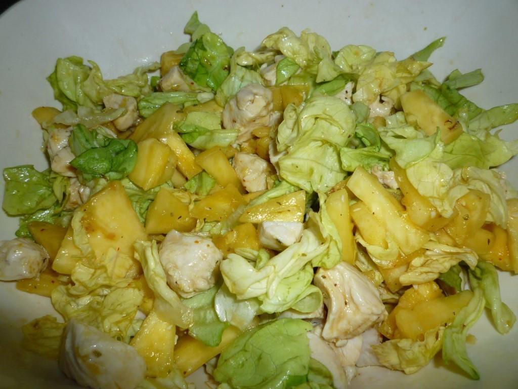 Рецепт салата ананас с курицей и пекинской капустой рецепт с