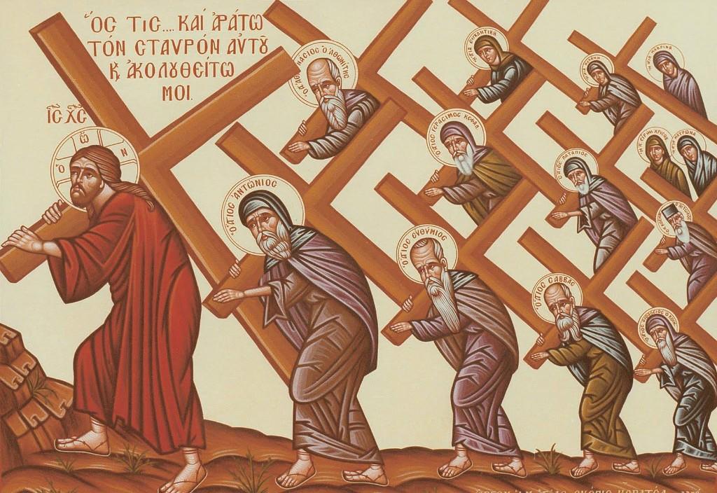 Αποτέλεσμα εικόνας για take up his cross and follow me