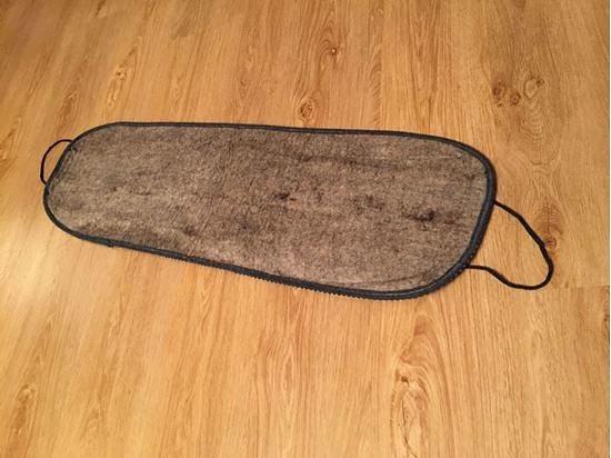 Согревающий пояс из овечьей шерсти на спину, сделанный специальным способом – путём валяния.