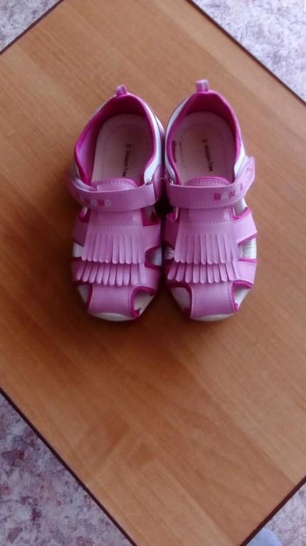 Продам сандали на девочку.