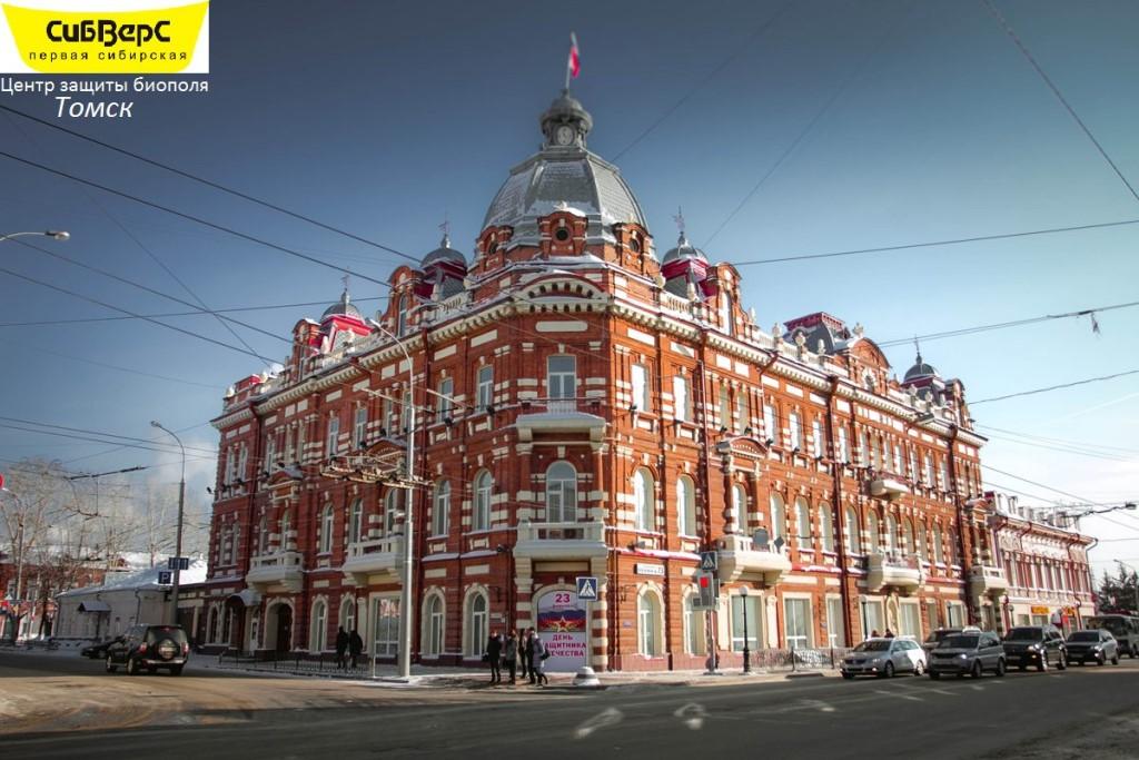 Теперь мы работаем в Томске