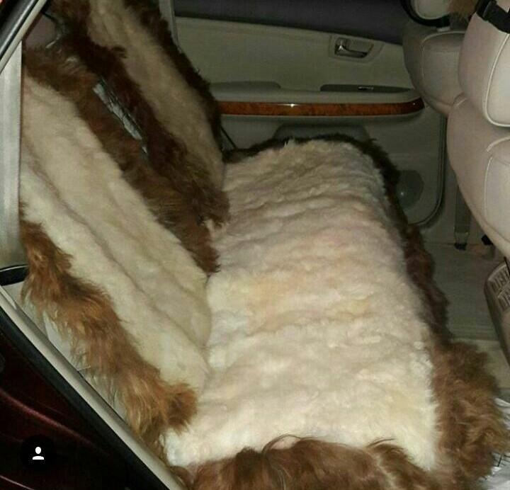 Меховые накидки из шкурной овчины на сидения авто.По вопросам писать в личку.