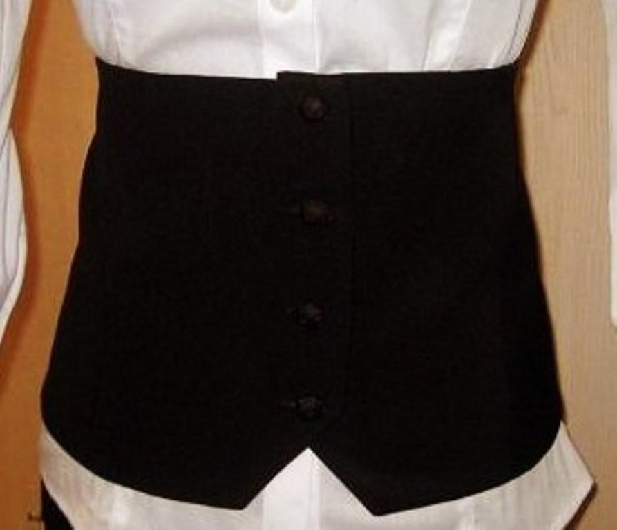 Продам НОВЫЙ оригинальный аксессуар пояс - карсет (ткань - креп, на подкладе) оригинальный деловой вариант.