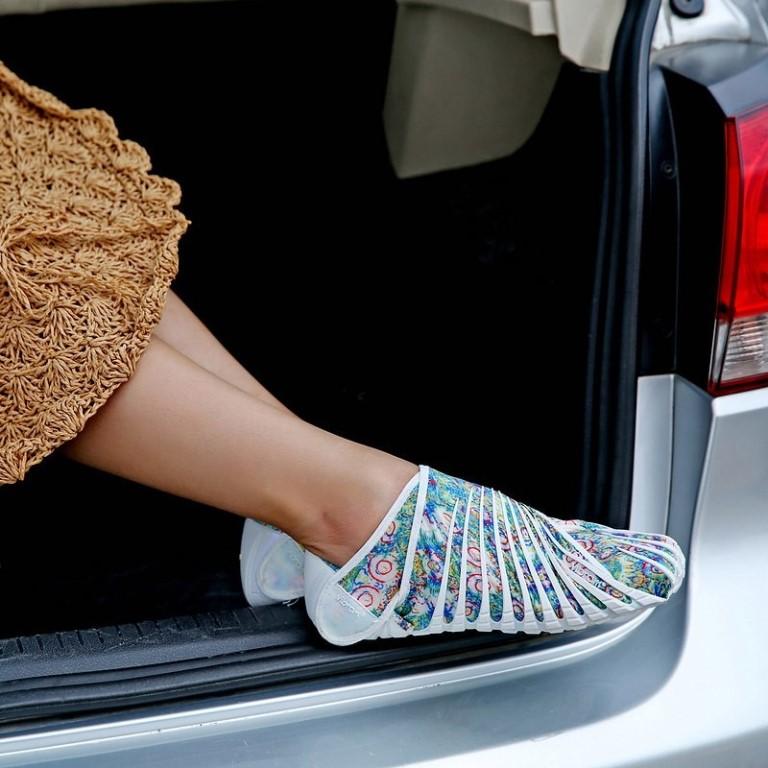 Vibram Furoshiki - это удивительная обувь, которая буквально оборачивает Вашу ногу!