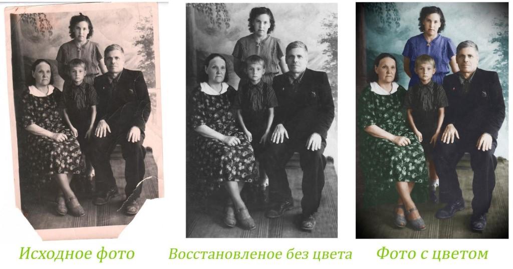 Профессиональная реставрация фотографий.